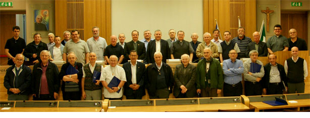 Participants to the XIX Provincial Chapter of Italy