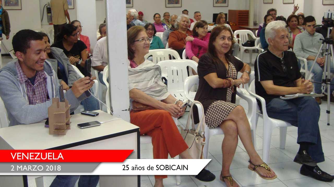 826249c3c Venezuela  25 años de SOBICAIN - Società San Paolo