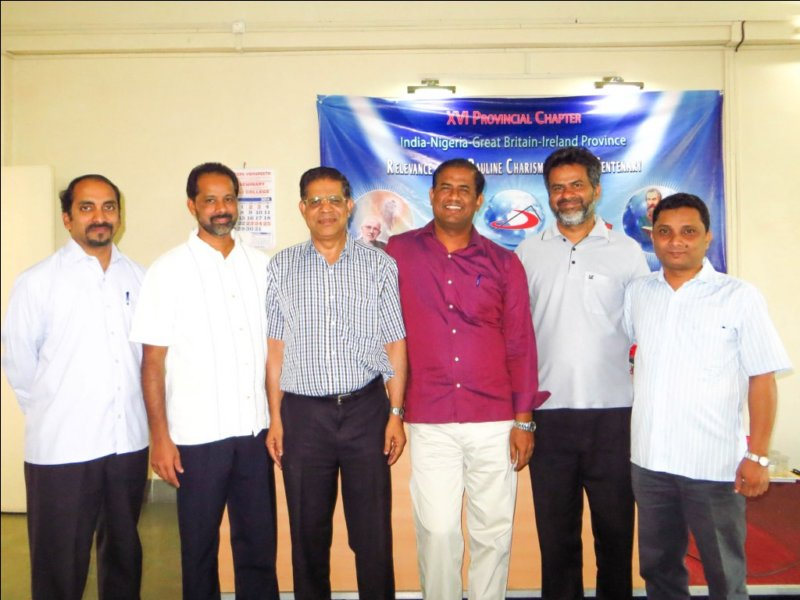 India - XVI Provincial Chapter Day 8